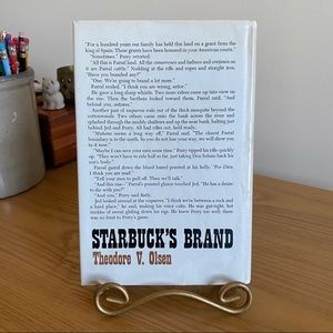 DoubleDay (Publishers) Accents - Vintage Starbuck's Brand Western by Theodore Olsen